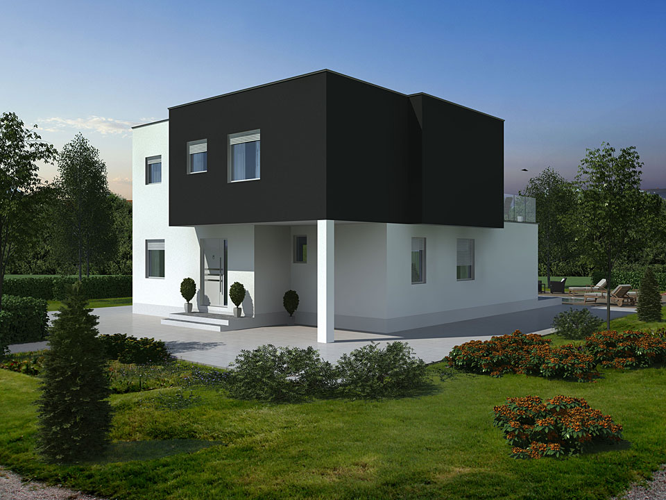 House Cubus - 3D Visualization - Freya